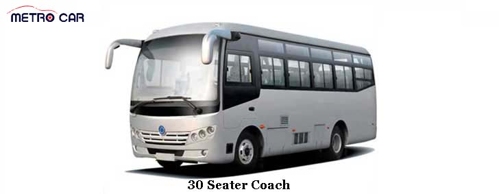 30 Seater Bus service in Jodhpur