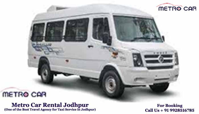 Tempo Traveller 13 and 17 Seater